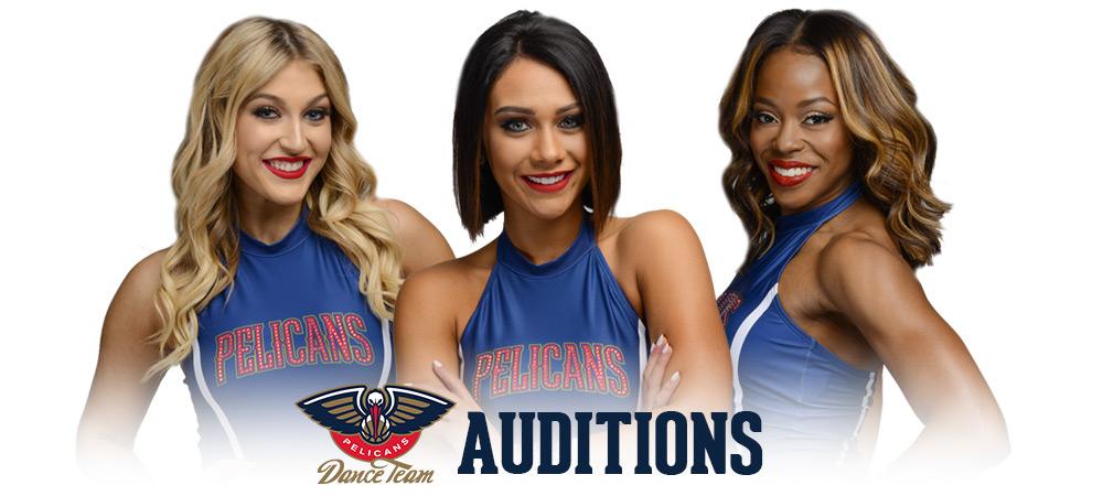 Pelicans Dance Team Auditions