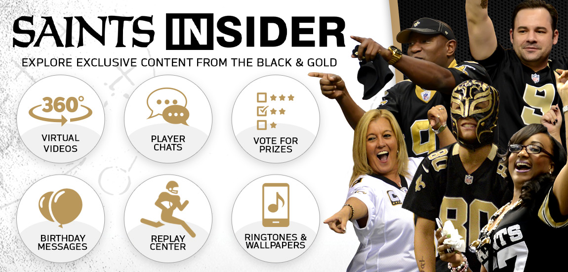 Welcome to Saints Insider